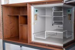 CFC Silkeborg DANISH BAR CABINET WITH REFRIGERATOR BY SILKEBORG - 1453159