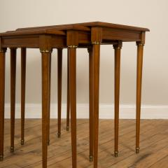 COMTE A nest of three mahogany tables attributed to Comte Circa 1940 - 2107586