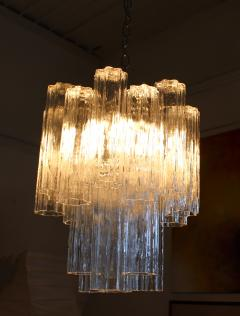 Camer Glass Murano Tronchi Chandelier Attributed to Camer Glass - 142719