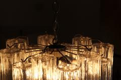 Camer Glass Murano Tronchi Chandelier Attributed to Camer Glass - 142722