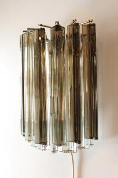 Camer Glass Pair of Vintage Camer Glass Sconces - 1119300