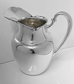 Camusso 1950s Camusso Sterling Silver Water Pitcher Lima Peru - 1819677