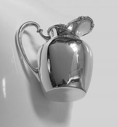 Camusso 1950s Camusso Sterling Silver Water Pitcher Lima Peru - 1819678