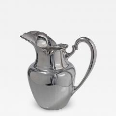 Camusso 1950s Camusso Sterling Silver Water Pitcher Lima Peru - 1819699