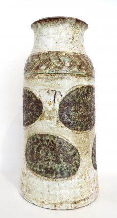 Cardelle French Ceramic Vase from Vallauris France Signed Cardelle Vallauris - 1109922