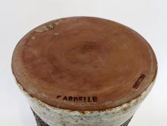 Cardelle French Ceramic Vase from Vallauris France Signed Cardelle Vallauris - 1109924