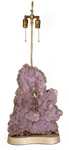 Carole Stupell Ltd Exquisite Amethyst Quartz Table Lamp by Carole Stupell Ltd - 774668
