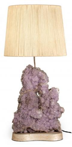 Carole Stupell Ltd Exquisite Amethyst Quartz Table Lamp by Carole Stupell Ltd - 774669