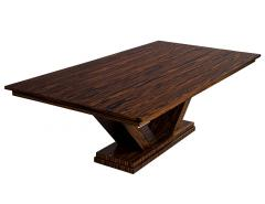 Carrocel Interiors Custom Modern Macassar Dining Table by Carrocel - 1739947