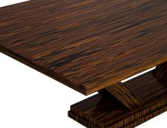 Carrocel Interiors Custom Modern Macassar Dining Table by Carrocel - 1739948