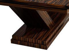 Carrocel Interiors Custom Modern Macassar Dining Table by Carrocel - 1739950