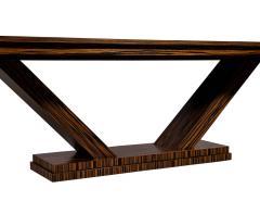 Carrocel Interiors Custom Modern Macassar Dining Table by Carrocel - 1739951
