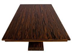 Carrocel Interiors Custom Modern Macassar Dining Table by Carrocel - 1739953