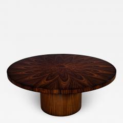 Carrocel Interiors Custom Sunburst Modern Round Dining Table - 1740916