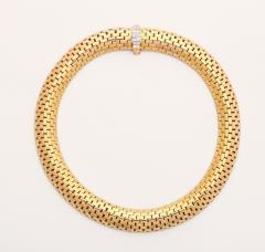 Cartier 18K Gold Diamond Necklace by Cartier - 186499