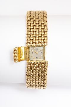 Cartier 18k Woven Gold Watch Bracelet by Cartier - 73228