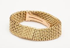 Cartier 18k Woven Gold Watch Bracelet by Cartier - 73229