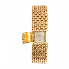 Cartier 18k Woven Gold Watch Bracelet by Cartier - 73400