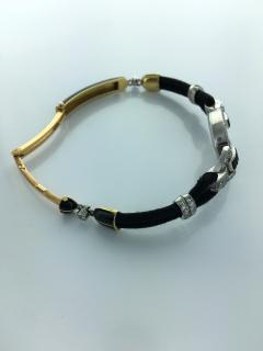 Cartier 1920s Cartier Paris Art Deco Diamond Onyx Wristwatch - 358312