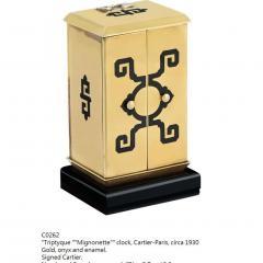 Cartier ART DECO ALTAR TRYPTIQUE DESK CLOCK CARTIER CIRCA 1928 - 2051920