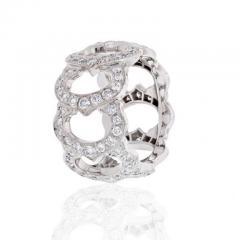 Cartier CARTIER 18K WHITE GOLD C DE CARTIER ALL DIAMOND RING - 1858618