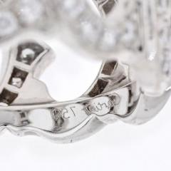 Cartier CARTIER 18K WHITE GOLD C DE CARTIER ALL DIAMOND RING - 1858619