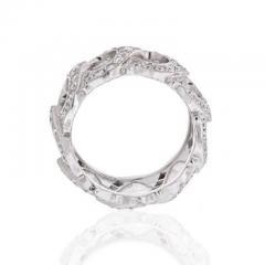 Cartier CARTIER 18K WHITE GOLD C DE CARTIER ALL DIAMOND RING - 1858620