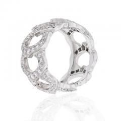 Cartier CARTIER 18K WHITE GOLD C DE CARTIER ALL DIAMOND RING - 1858622