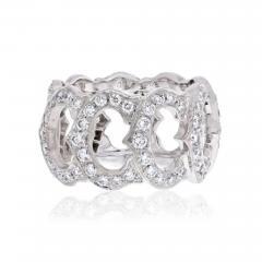 Cartier CARTIER 18K WHITE GOLD C DE CARTIER ALL DIAMOND RING - 1858824
