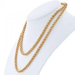 Cartier CARTIER 18K YELLOW GOLD 36 INCHES FRENCH LINK NECKLACE - 1963007