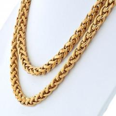 Cartier CARTIER 18K YELLOW GOLD 36 INCHES FRENCH LINK NECKLACE - 1963009