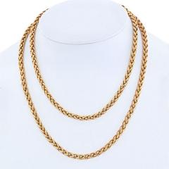 Cartier CARTIER 18K YELLOW GOLD 36 INCHES FRENCH LINK NECKLACE - 1963059