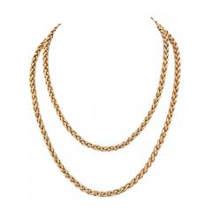 Cartier CARTIER 18K YELLOW GOLD 36 INCHES FRENCH LINK NECKLACE - 1965654