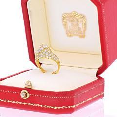 Cartier CARTIER 18K YELLOW GOLD DEUX TETES CROISEES RING - 2029510