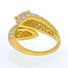 Cartier CARTIER 18K YELLOW GOLD DEUX TETES CROISEES RING - 2029511