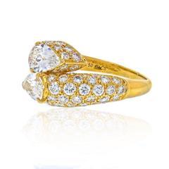 Cartier CARTIER 18K YELLOW GOLD DEUX TETES CROISEES RING - 2029512