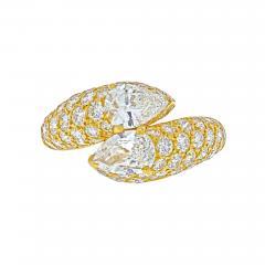 Cartier CARTIER 18K YELLOW GOLD DEUX TETES CROISEES RING - 2030173