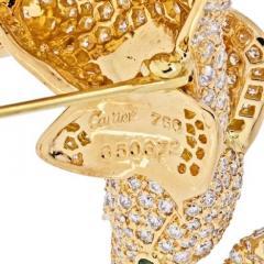 Cartier CARTIER 18K YELLOW GOLD DIAMOND ELEPHANT BROOCH - 1963015