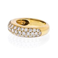 Cartier CARTIER 18K YELLOW GOLD ETINCELLE DIAMOND RING - 1941036