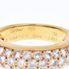 Cartier CARTIER 18K YELLOW GOLD ETINCELLE DIAMOND RING - 1941037
