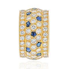 Cartier CARTIER 18K YELLOW GOLD NIGERIA DIAMOND SAPPHIRE RING - 1941040