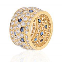 Cartier CARTIER 18K YELLOW GOLD NIGERIA DIAMOND SAPPHIRE RING - 1941041