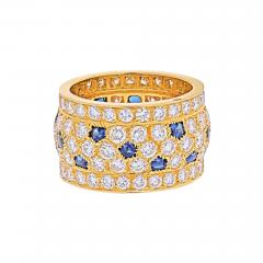 Cartier CARTIER 18K YELLOW GOLD NIGERIA DIAMOND SAPPHIRE RING - 1942256