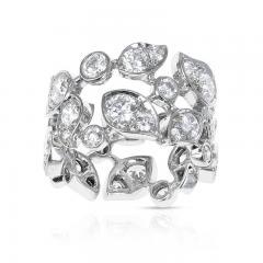 Cartier CARTIER 5 CARAT DIAMOND LEAF RING 18K WHITE GOLD - 2086700
