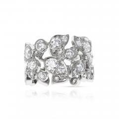 Cartier CARTIER 5 CARAT DIAMOND LEAF RING 18K WHITE GOLD - 2086886