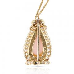 Cartier CARTIER CORAL ONYX AND DIAMOND NECKLACE 18K YELLOW GOLD - 2077465
