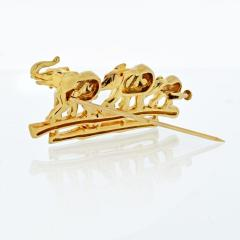 Cartier CARTIER ELEPHANT 18K YELLOW GOLD VINTAGE BROOCH - 1809403