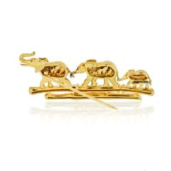 Cartier CARTIER ELEPHANT 18K YELLOW GOLD VINTAGE BROOCH - 1809404