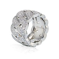 Cartier CARTIER LA DONA 18K WHITE GOLD PAVE DIAMOND RING - 1694398