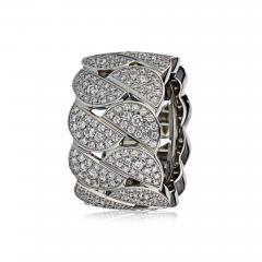 Cartier CARTIER LA DONA 18K WHITE GOLD PAVE DIAMOND RING - 1695863